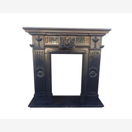 Marble fireplace, fireplace mantel made to measure solid marble K067