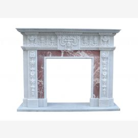 Classicism Empire facade fireplace marble fireplace mantel Store Fireplaces Fireplaces style