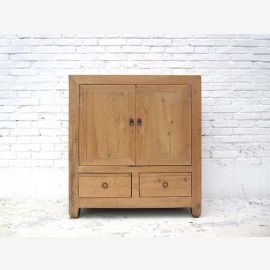 China Jilin 1,910 fine small chest by drawers square front light natural pine country style by Luxury Park