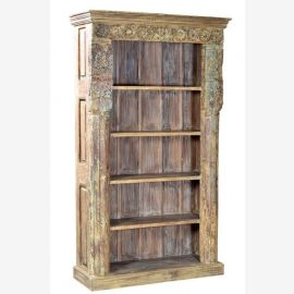 India beautiful book shelf out of an old door frame
