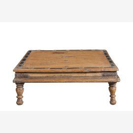 small antique coffee table especially flat Bajót India Luxury Park