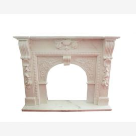 Classicism early days FIREPLACE massive white marble surround 150x120cm D D 11assiv Heb Heb 11