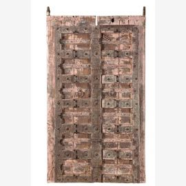 Traditional wooden door from India