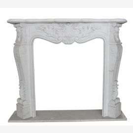 "Fireplace Marble ""custom-made"" model Verona"