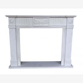 top occassion classic marble fireplace camino stilo antico 150x120cm ID heb 05