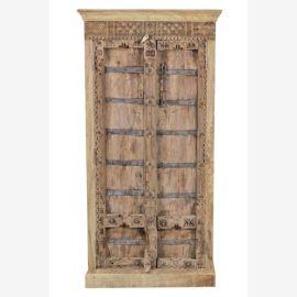 MANGO & TEAK Cupboard India antique door new recycled body