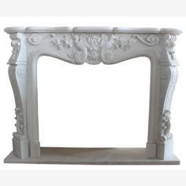 "Fireplace Marble ""custom-made"" model Colmar"