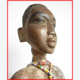 Ewe ancestral figure , male, Ghana , 100 years