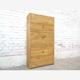 China cottage style hallway dresser shoe cabinet light wood lateral thrusts in headboard