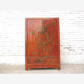 Tibet cabinet with dragon motif