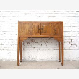 China Console table Honey Brown