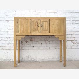 China wall-mounted table natural wood