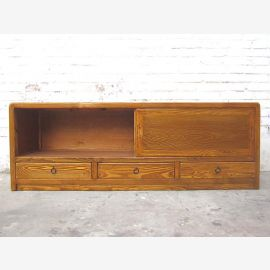 China fine dresser TV Lowboard country-style natural wood