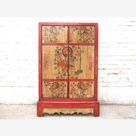 China slender half-height CD-dresser cabinet tibet pine
