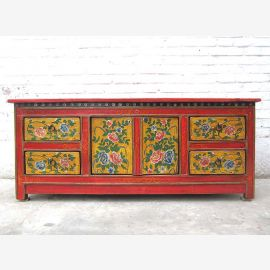 Asia Television antique 120 years altLowboard dresser rustic décor pine