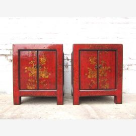 China 2 boxes in red