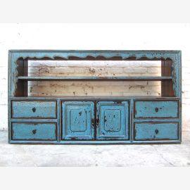 China Tibet before 1910 Regal Sideboard Sideboard azure pine