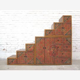 Step china Tibet traditional motifs