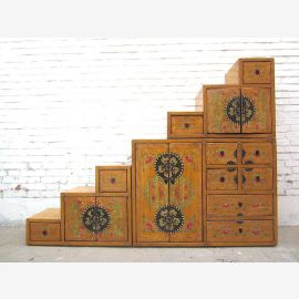 Step Chest of drawers Tibet design