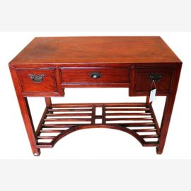 China around 1920 graceful colonial color mahogany desk