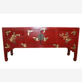 China painted chest of drawers sideboard perfect for low flat
