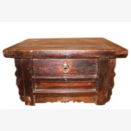China 1890 low dresser is an ideal nightstand for the Futton