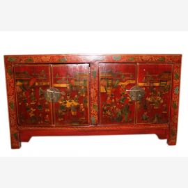 China around 1940 wide dresser / chest of drawers in a traditional design