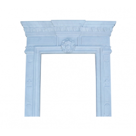 Marble fireplace, fireplace facade made to measure solid marble K042