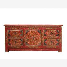 Lowboard Tibet 130 years old motifs