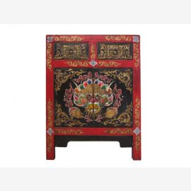 Tibet dresser 120 years painted multicolored
