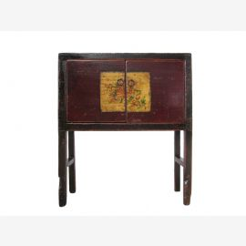 Chest of drawers Mongolia antique 110 - 130 years old. 001