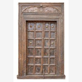 India 1910 Door Gate massive frame enchanting design of Luxury Park