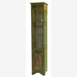 India High shelf shabby green furniture