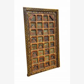 Finely crafted door frame from Tibet