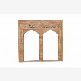 INDIA square shape double curved window FRAME FRAMEWORK nice carving D ED -11-29