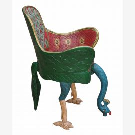 India absolutely surreal bird chair unique shock art