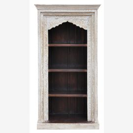 India high shelf white stained wider Arch solid wood furniture