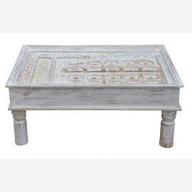 """India typically low table coffee table pretty surface of Rajasthan """"Luxury-Park"""""""