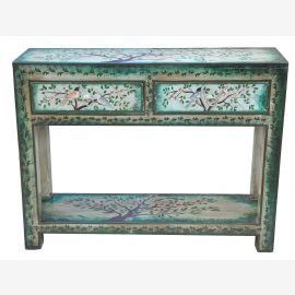 """India blue gray small sideboard chest of drawers shabby chic by """"Luxury-Park"""""""