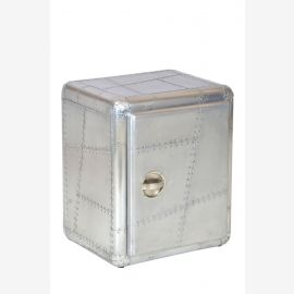 NEW aircraft aluminum furniture chest of drawers small airplane recycling