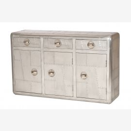 Airrange sideboard drawers & doors, aluminum airplane recycling