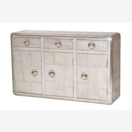 Airrange sideboard drawers & doors, aluminum airplane recycling