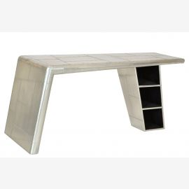 Dining table furniture Airrange aluminum from recycled airplane
