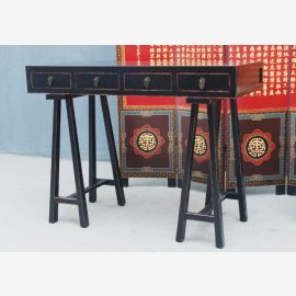 China Schreibtisch Anrichte Filigrane moderne Holzarbeit