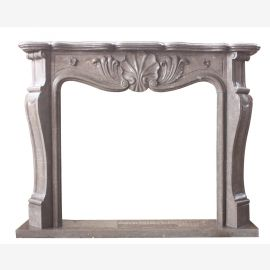Marble fireplace, fireplace mantel made to measure solid marble K094