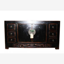 China table console antique coffee table about 60 years old