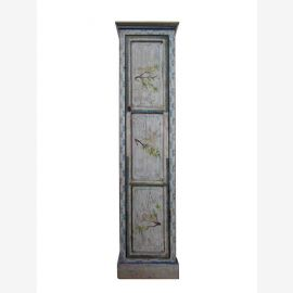 Solid wood cabinet from China in covered blue with painting