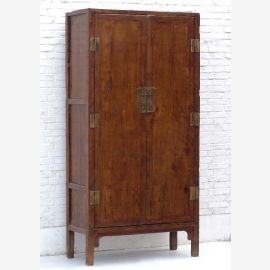 Solid wood cabinet from China, cherry wood, discreet look
