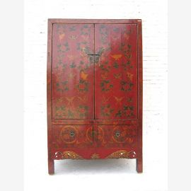Solid wood, dark red, China traditional painting