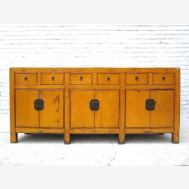 Chinese sideboard made of high quality wood. Geometrical lines